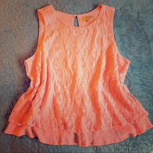 Vera Wang Princess sleeveless tank Sz XL